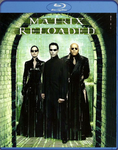 {Blu-Ray} Matrix Reloaded Matrix19