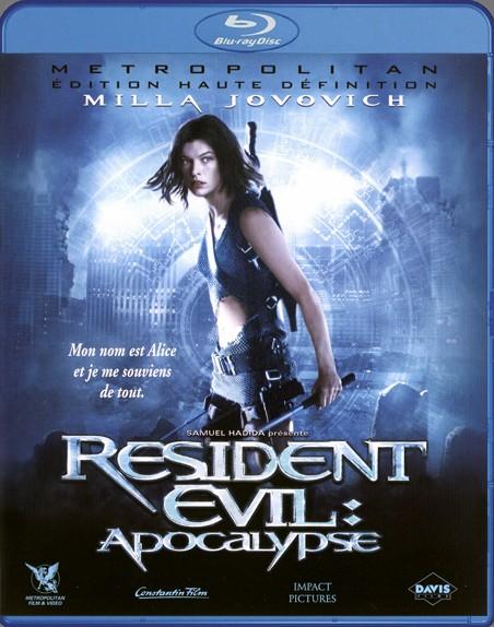 {Blu-Ray} Resident Evil Apocalypse Reside20