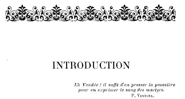 Le Martyre de la Vendée. Introd11