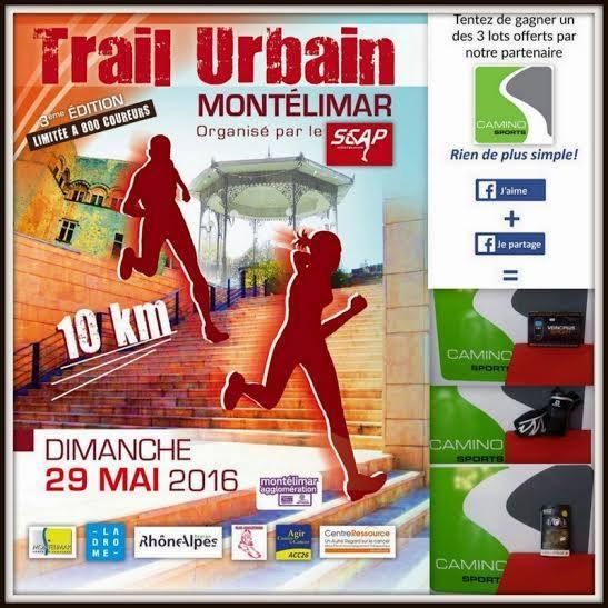 Trail  à Montélimar 29 mai 12418010
