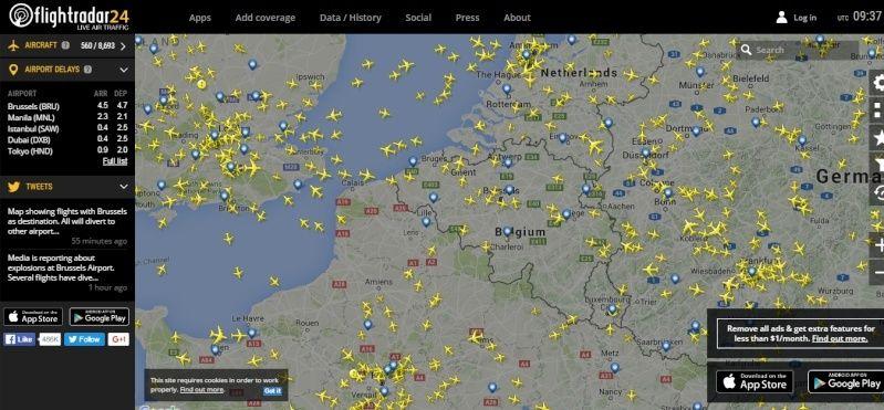 radarvirtuel.com/Flightradar24.com : tous les avions en vol en direct sur une carte - Page 3 Flight12