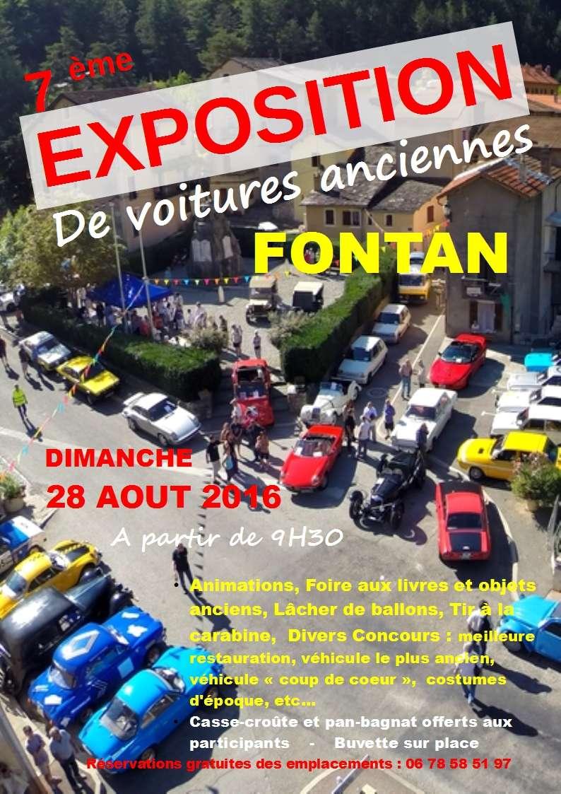 [06][28/08/2016] Expo et pan-bagnat à Fontan Affich11