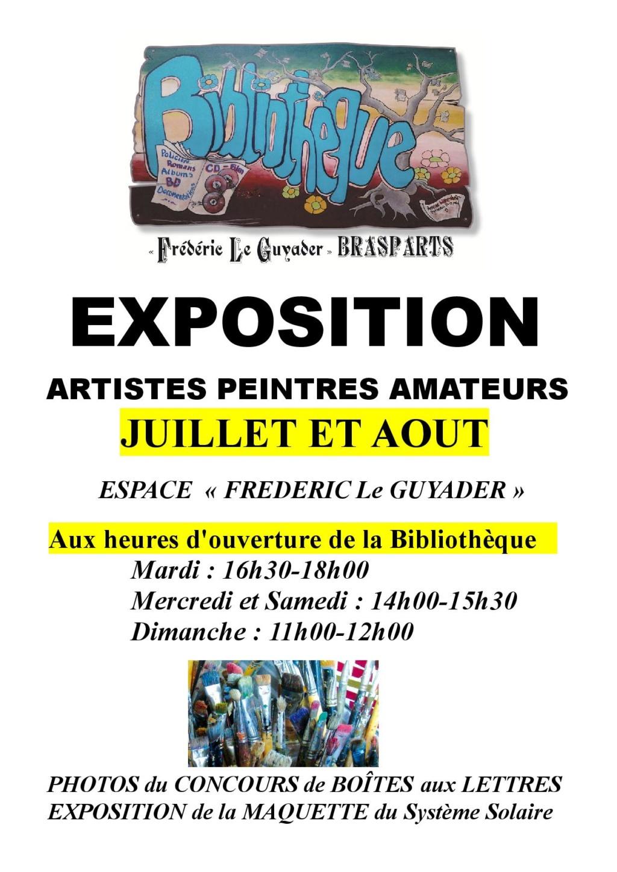 Exposition artistes peintres amateurs  Affich15