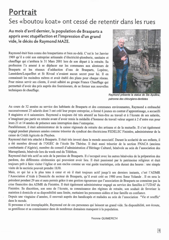 Bulletin d'Information de Brasparts - septembre 2019 (BIB N°56) Bib_5636