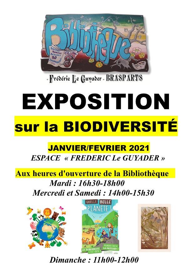 Horaires ouverture de la Bibliothèque et exposition Exposi10