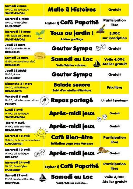 Mardi 9 Avril 2019 :  Après-midi Jeux à la Bibliothèque Flyer_11