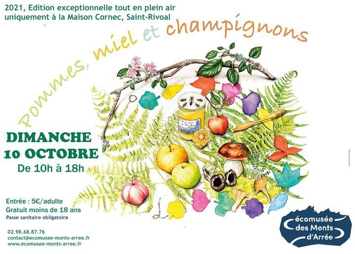 fête des pommes , miel et champignons dimanche 10 octobre 2021 Fzote_10