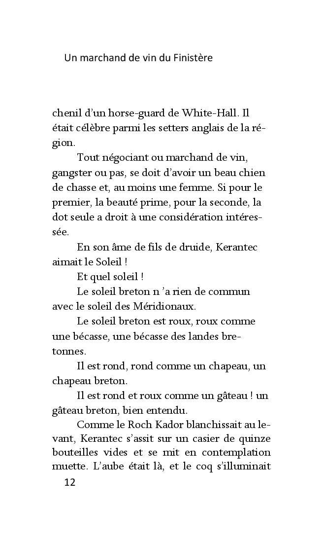 Un marchand de vin dans le Finistère de François Dantec Marcha14