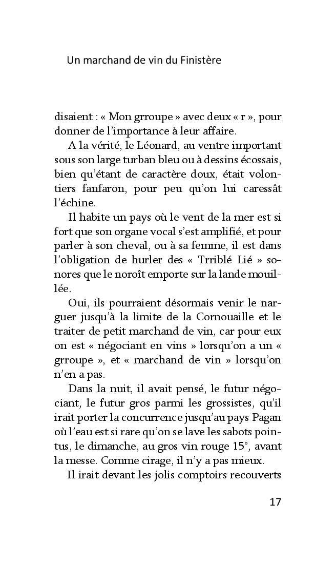 Un marchand de vin dans le Finistère de François Dantec Marcha21