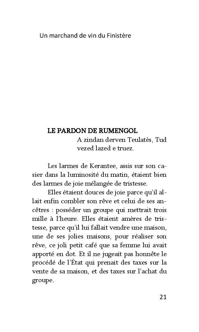 Un marchand de vin dans le Finistère de François Dantec Marcha23