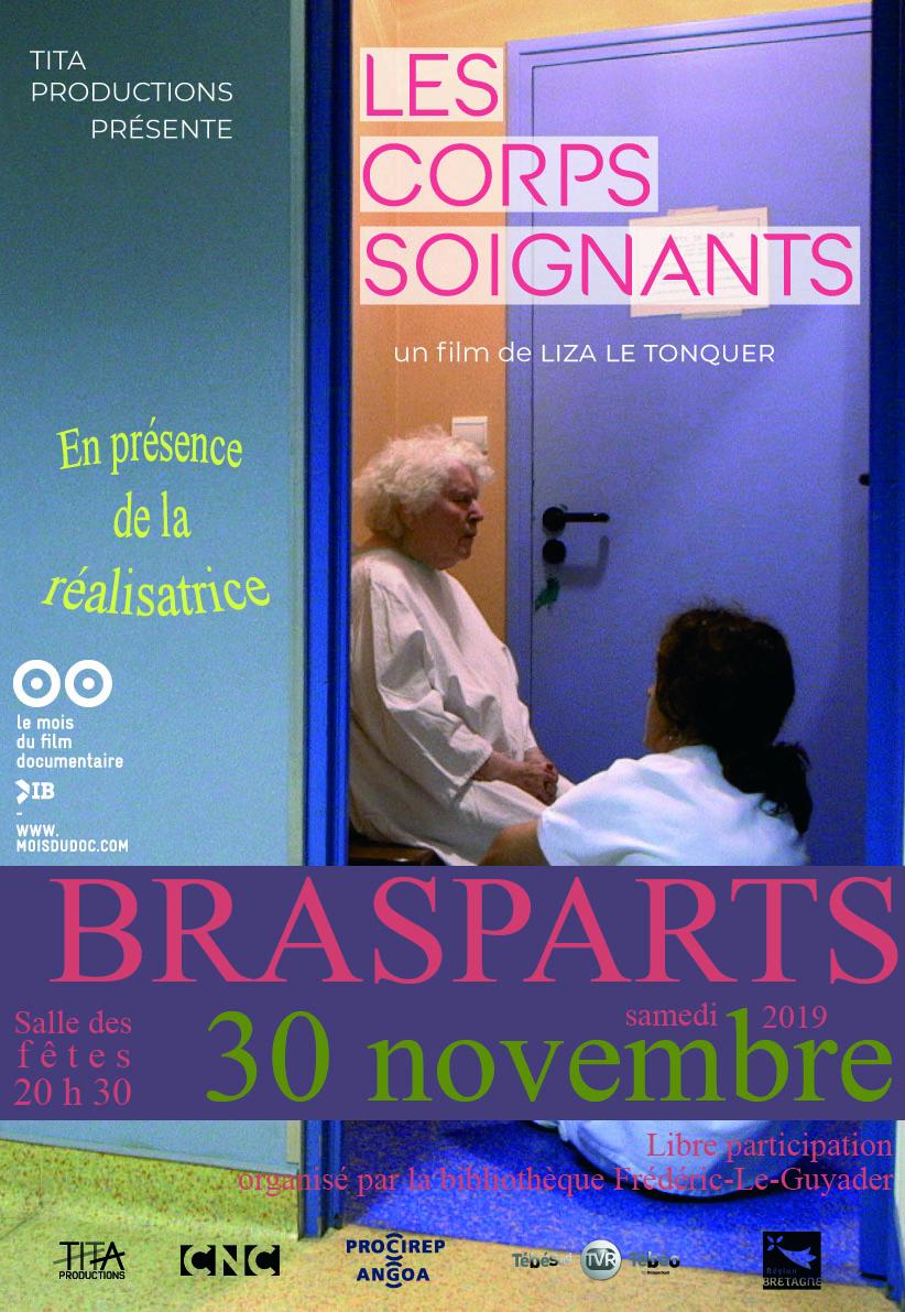 """Mois du documentaire """"les Corps soignants"""" de Liza LE TONQUER - Bibliothèque espace Frédéric Le Guyader - 20h30 Mois_d10"""