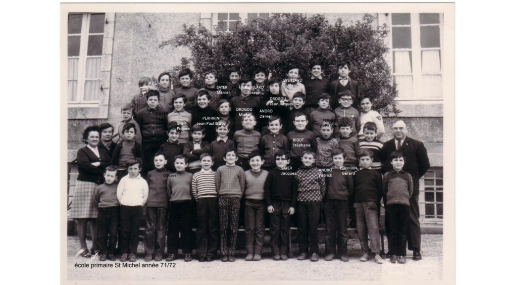 Ecole primaire Saint Michel 1971-1972 Photo_11