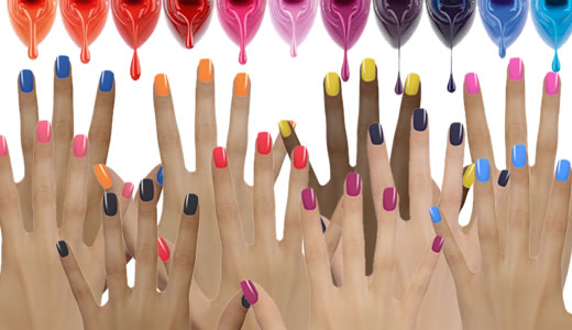 Les vernis a ongles couleurs flashy Vernis10