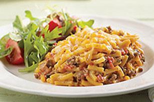 Casserole de macaroni au cheddar et au boeuf Sans_t11