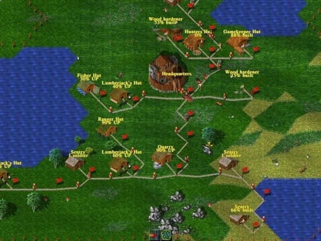 widelands juego muy parecido a age of empires 3d55x110