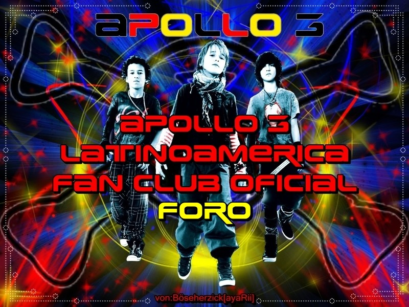 Apollo 3 latinoamerica FAN CLUB OFICIAL