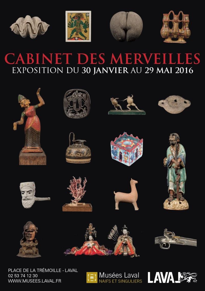 expo Cabinet des merveilles Laval France en 2016 Affich10