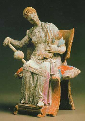 Tanagra (statuettes) Aphroe11
