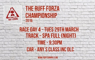 The Ruff Forza Championship 2016 - Race Day 4 Rd3_110