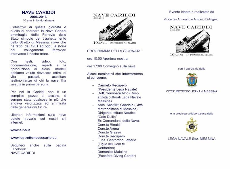 """13 marzo 2016 -  Convegno Nave Cariddi """"2006-2016"""" - 10 Anni in fondo al mare 10547110"""