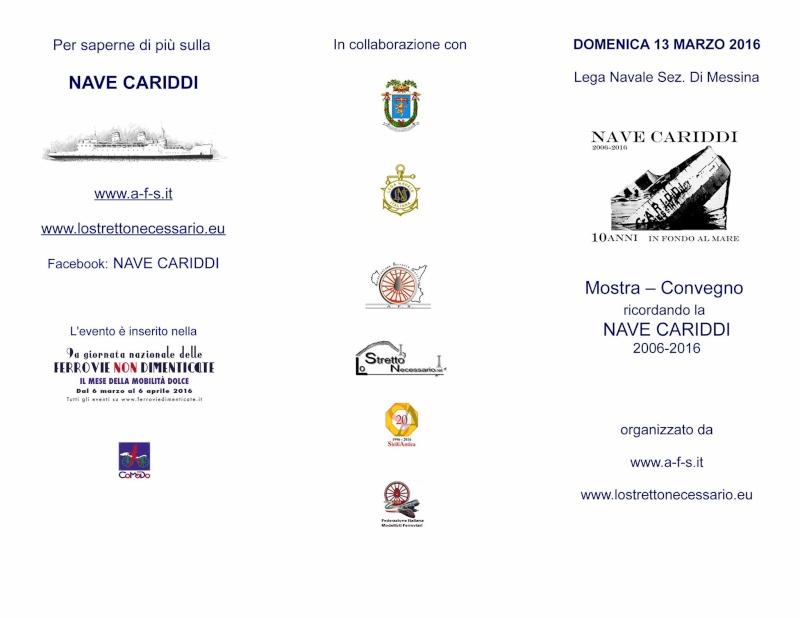 """13 marzo 2016 -  Convegno Nave Cariddi """"2006-2016"""" - 10 Anni in fondo al mare 12495910"""