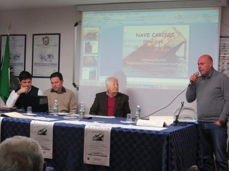 """13 marzo 2016 -  Convegno Nave Cariddi """"2006-2016"""" - 10 Anni in fondo al mare Img_9619"""