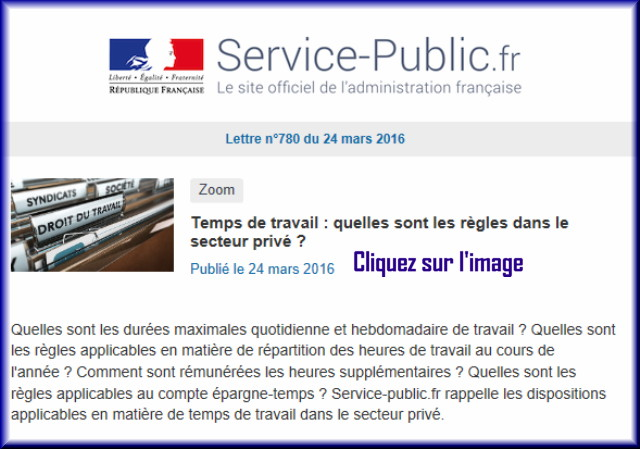 """La lettre N° 780 de """"Service Public"""" du 24 Mars 2016 78010"""