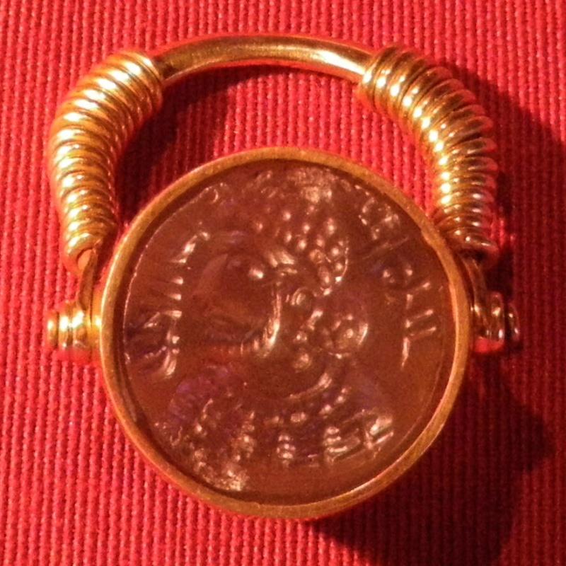 Bague-intaille sassanide ... Imgp3110