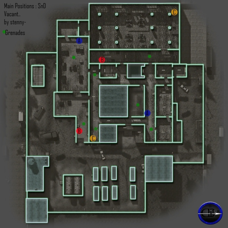 New Map Positions. Vacant11