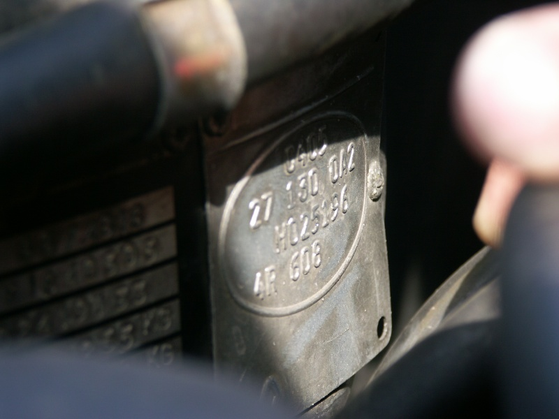 numéros de serie et différences entre nos cabriolets .. Rassob22