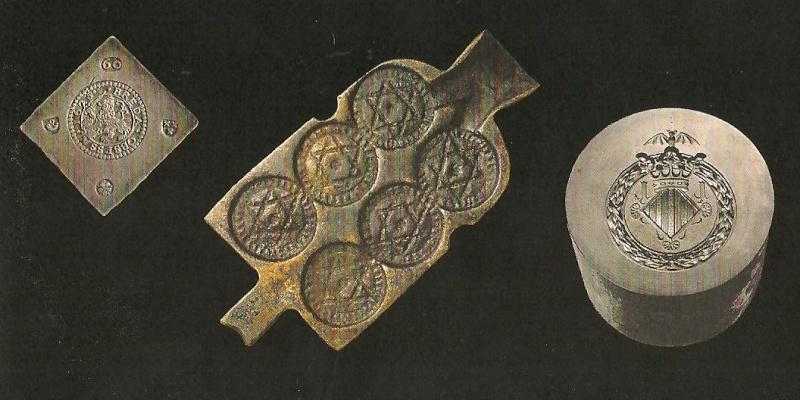 1 Felus Marroquí de Adb-Al-Rahman de 1276 de la hégira. Anvers17