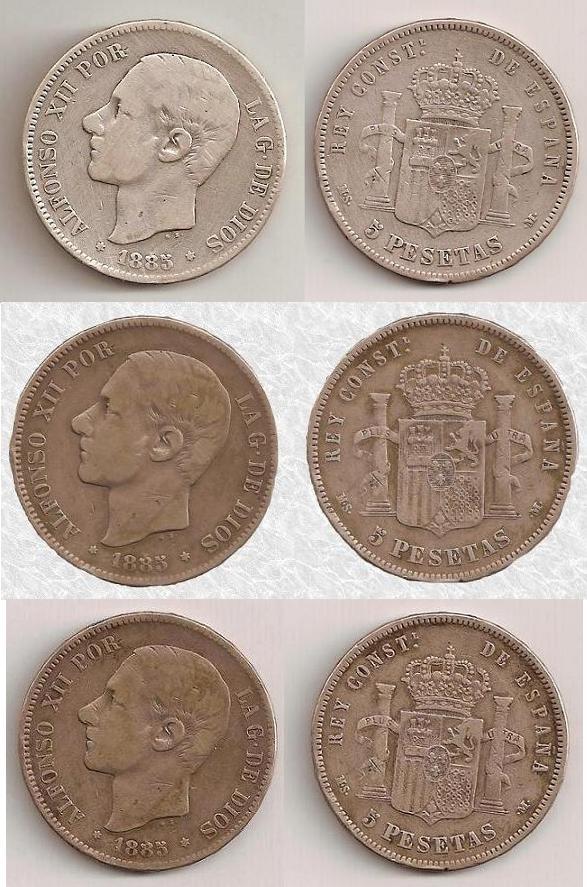 Oscurecimiento natural en monedas de plata Patina10