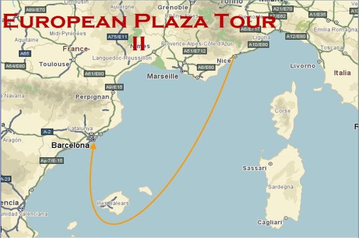 European Plaza Tour II (Départ 2009/09/08 à 12:00:00 GMT) 08-09-10