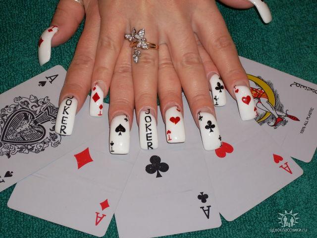 Фотографии интересных дизайнов ногтей 410