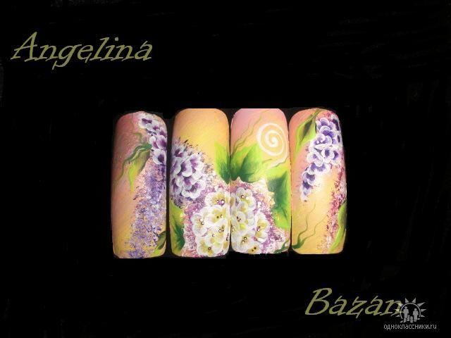 Фотографии интересных дизайнов ногтей 4210