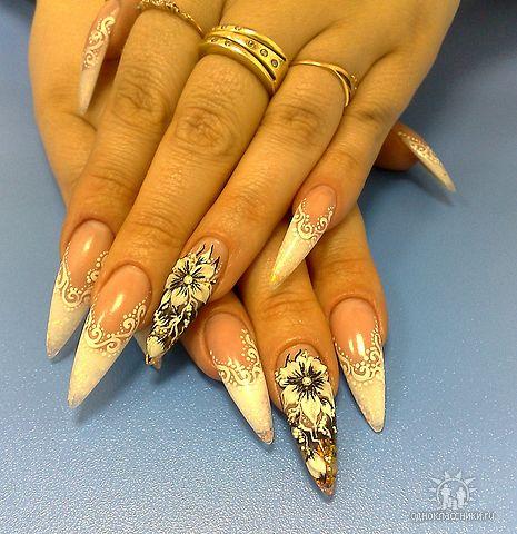Фотографии интересных дизайнов ногтей Getima11