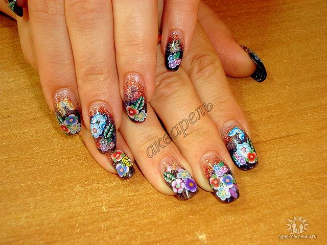 Фотографии интересных дизайнов ногтей Getima12
