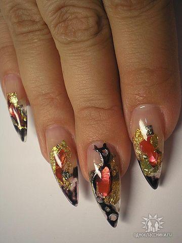 Фотографии интересных дизайнов ногтей Getima13