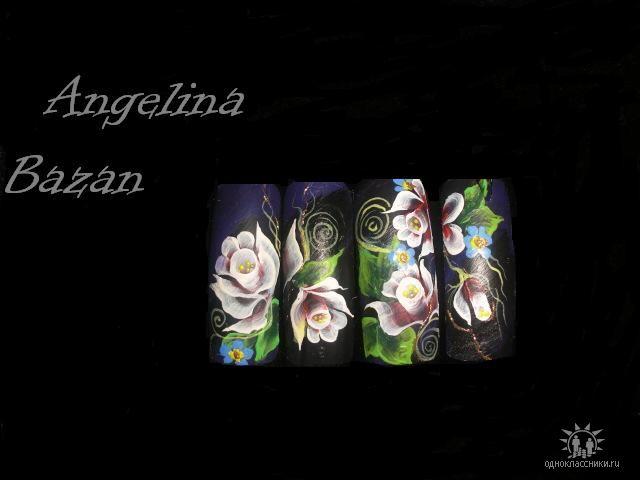 Фотографии интересных дизайнов ногтей Getima14