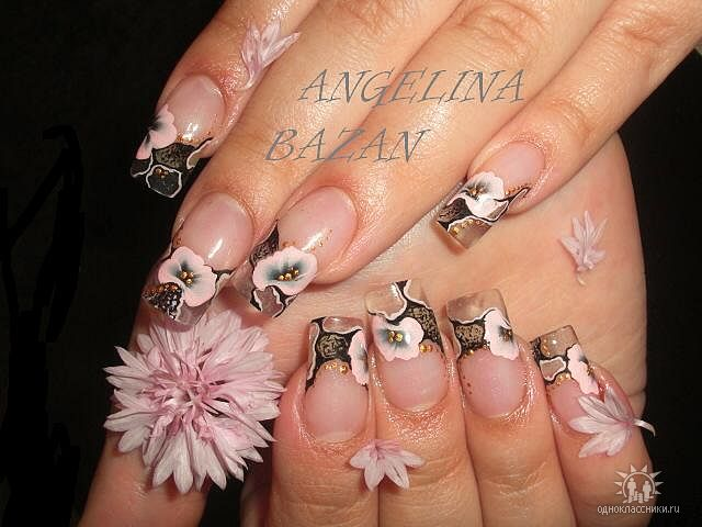 Фотографии интересных дизайнов ногтей Getima19