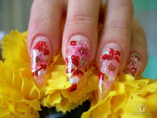 Фотографии интересных дизайнов ногтей I010