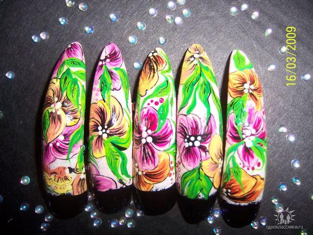 Фотографии интересных дизайнов ногтей T10