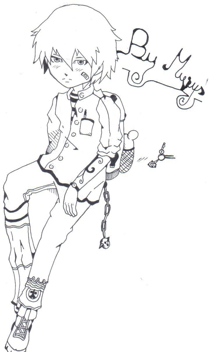 Alcuni miei disegni - Pagina 4 Boy10