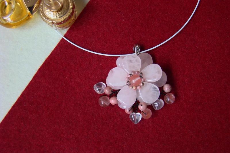 """""""Flori de piatră-Bijoux"""" albumul I-bijuterii artizanale marca Didina Sava - Pagina 5 Colie101"""