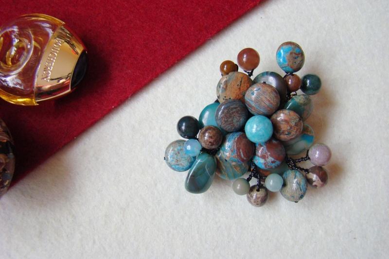"""""""Flori de piatră-Bijoux"""" albumul I-bijuterii artizanale marca Didina Sava - Pagina 5 Colie120"""