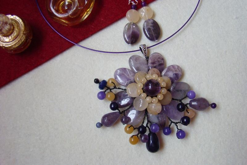 """""""Flori de piatră-Bijoux"""" albumul I-bijuterii artizanale marca Didina Sava - Pagina 6 Colier21"""