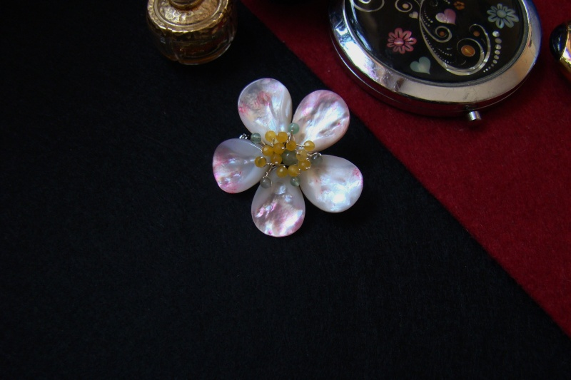"""""""Flori de piatră-Bijoux"""" albumul I-bijuterii artizanale marca Didina Sava - Pagina 6 Colier36"""