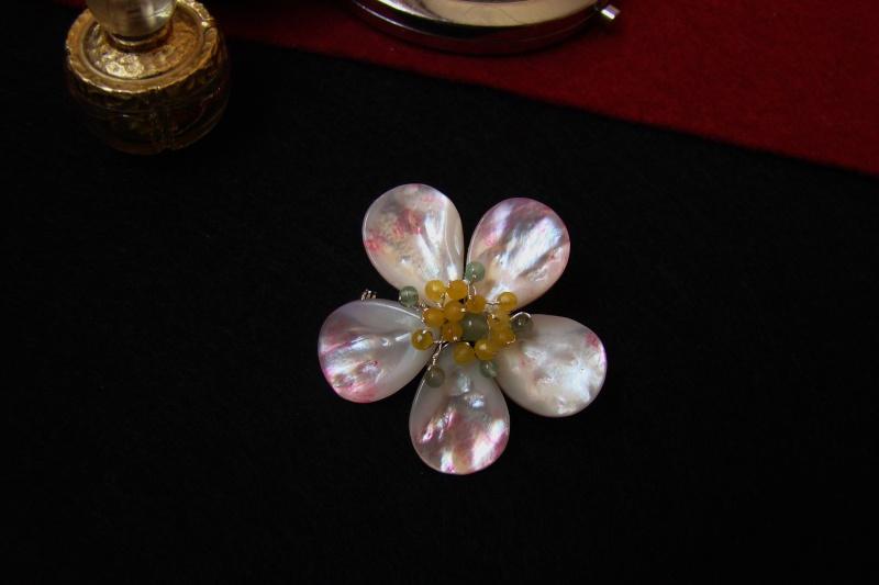 """""""Flori de piatră-Bijoux"""" albumul I-bijuterii artizanale marca Didina Sava - Pagina 6 Colier37"""