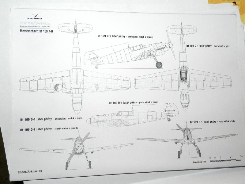 """Messerschmitt Bf 109 D """"Gelbe 1"""" I./3./JG 21 - Septembre 1939 - 1/32 - Page 4 Dscn3023"""
