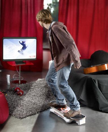Una patineta para tu Wii Tfrees10